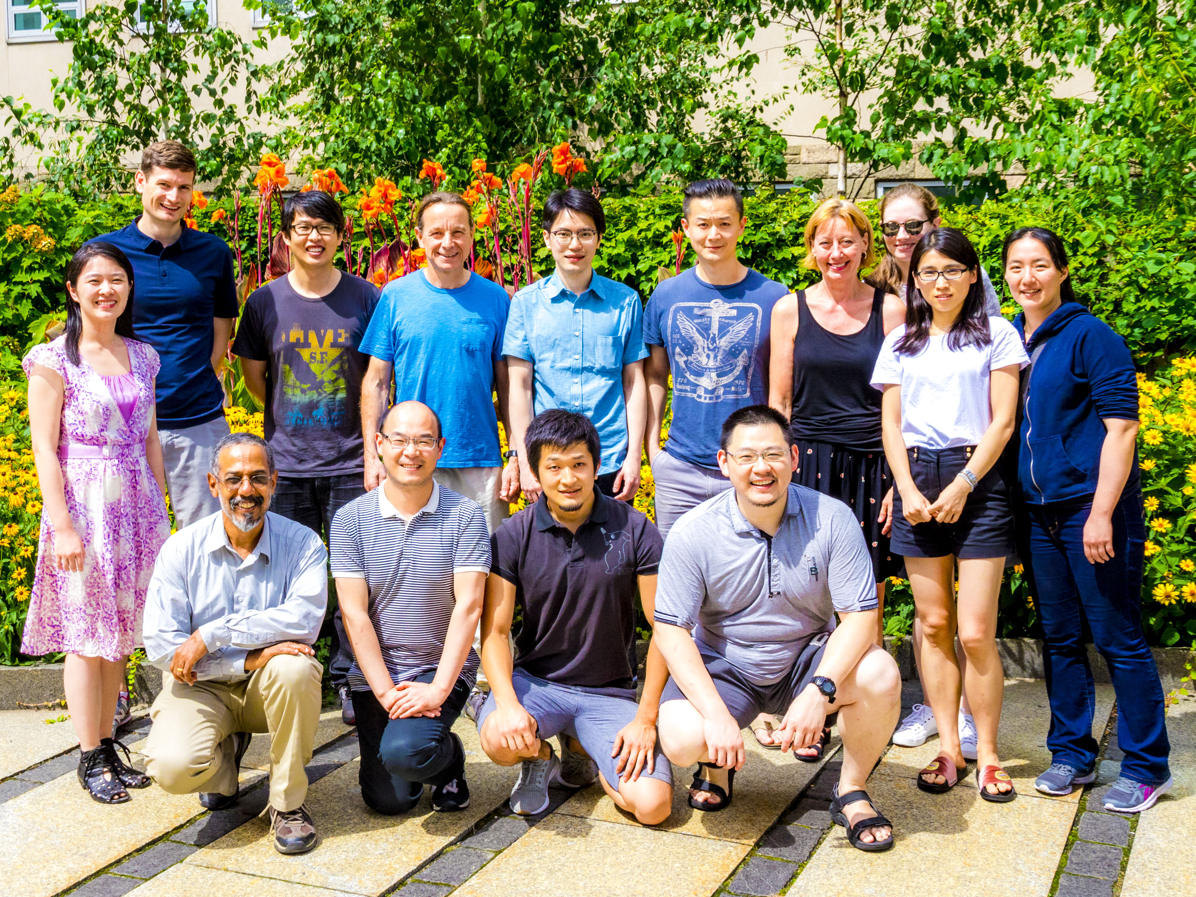 MacKinnon Lab Members July 2017